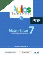 GUÍA DOCENTE MAT_7_VOL1_DOC_COMPLETO