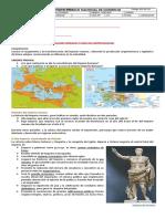 Invaciones bárbaras y caída del imperio romano