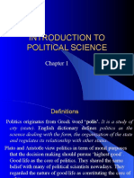 1 Politics and Political Science