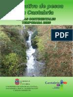 Normativa Pesca 2020 - Cantabria - Folleto Informativo