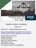 INFORMATIVO DIGITAL 47