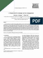 1995.Kellog&Nie.aFrameworkStrategicServiceManagement