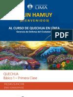 PPT - 1ra Clase Quechua