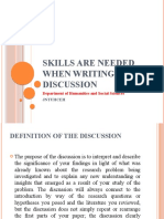 Skills needed for discussion  of Research Paper.pptx