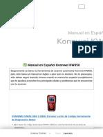 ▷ Cómo usar el Konnwei KW850 - Scanner Automotriz