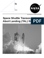 NASA Facts Space Shuttle Transoceanic Abort Landing (TAL) Sites