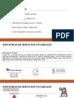 INDUSTRIAS DE SERVICIOS NOTARIALES.pptx
