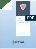 CÓDIGO DE ÉTICA Y DEONTOLOGÍA