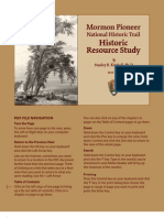 Mormon Pioneer Trail, Historic Resource Study - Interactive ebook