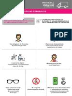 Protocolo de mudanza en La Plata en la pandemia