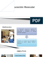 Reeducacion muscular