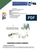2.3. Recopilación y Análisis de Información Urbano.