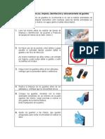Protocolo de uso de guantes