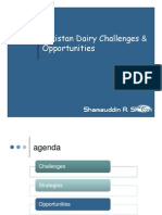 Livestock Dairy Industry Opportunities Challenges Mr Shamsuddin Sheikh Engro Foods