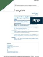 DTU 25.31 (NF P72-202-1)