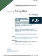 NF DTU 25.51 P2