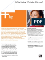 HP Mono Printing White Paper