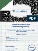 MGAAV. APA. U1. A3. Reconstrucción de la explicación de cómo ocurre el aprendizaje a partir del conductismo