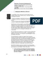CLC5 DR4 A linguagem utilizada na Internet