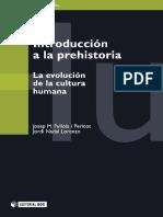 Introducción a la prehistoria. La evolución de la cultura humana
