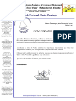 COM.116  Plan Nacional 2018