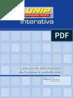 Centro de Distribuição Estratégia e Localização - Livro – Unidade I