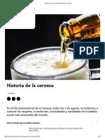 Historia de la cerveza _ Ministerio de Cultura