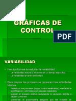 GRÁFICAS O CARTAS DE CONTROL PARA VARIABLES