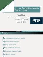 Regression vs Kalman filter