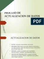 3. ACTUALIZACION DE DATOS