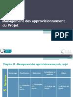 Chap.12.Management des Approv. du Projet
