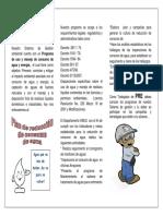Divulgacion folletos ambientales