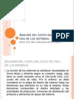 ANÁLISIS DEL COSTO DEL CICLO DE VIDA DE LOS SISTEMAS