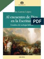 Al encuentro de Dios en la Escritura - Felix García López