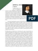RENÉ DESCARTES (s. XVII)