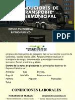 28 CONDUCTORES  DE TRANSPORTE INTERMUNICIPAL