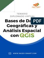 Temario DIPLOMADO VIRTUAL Bases de Datos Geográficas y Análisis Espacial con QGIS .pdf