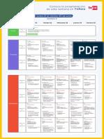 """Programación Semana 9 (1 a 5 de junio 2020) """"Aprendo en Casa"""""""