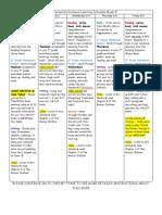 distance learning schedule week 8 june 1-5