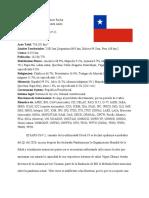 Chile Mun Position Paper