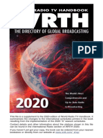 WRTH2020 International Radio Supplement  A20S chedules Revised