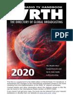 WRTH 2020 International Radio Supplement2_A20 Schedules