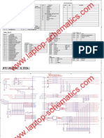 FUJITSU Laptop Motherboard Schematics Diagram