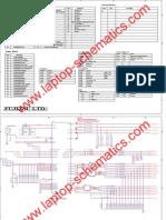 FUJITSU Laptop Motherboard Schematics Diagram