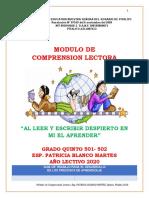 MODULO DE QUINTO COMPRENSION