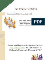 PRESENTACIÓN COMITÉ DE CONVIVENCIA