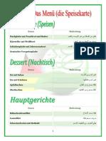 45 Das Menü bestellen قائمة الطعام و طلب الاكل في المطعم