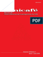 CENICAFE Revista 70-1 2019