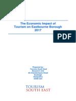 Eastbourne Tourism Economic Impact 2017