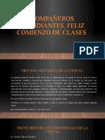 GRAFICAS DEL PROCESO HISTORICO DE LA CIENCIA